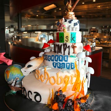 Geburtstagsparty Torte